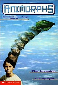 The Animorphs series by K. A. Applegate
