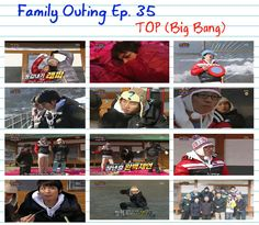 Family Outing EP 35 With Daesung TOP