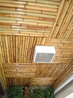 arquitectura en guadua - Buscar con Google                                                                                                                                                      Más Bamboo Roof, Bamboo Ceiling, Bamboo House, Bamboo Architecture, Sustainable Architecture, Spa Interior, Home Interior Design, Bahay Kubo, Bali House