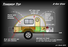 slide out teardrop camper - Google Search