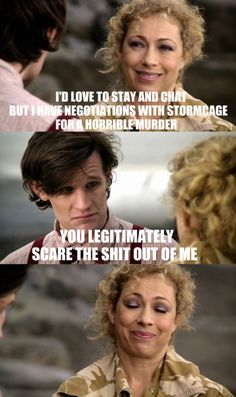 Dr Who and River, that's why they are married