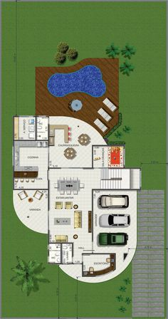 4 bedroom house project with 340.69sqm