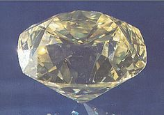 234.65 carats. Was the centerpiece of a necklace with over 900 carats of white diamonds. Today whereabouts unknown