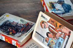 lot de 3 petits livres vintage éditions des par LegrenierdAlphonse