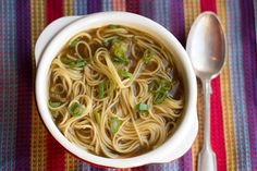 This chinese noodle soup recipe is delicious and so easy to make