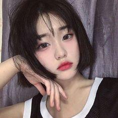 asian, korean, and ulzzang image . asian, korean, and ulzzang image Uzzlang Girl, Girl Short Hair, Short Girls, Korean Beauty, Asian Beauty, Ulzzang Makeup, Cute Asian Fashion, Jung So Min, Asian Makeup
