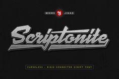 Scriptonite by Mikrojihad Typography on @creativemarket