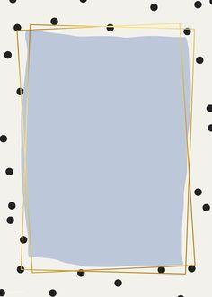 premium vector of Golden frame with polka dot background vector Golden frame with polka dot background vector Framed Wallpaper, Iphone Background Wallpaper, Aesthetic Iphone Wallpaper, Aesthetic Wallpapers, Polka Dot Wallpaper, Screen Wallpaper, Creative Instagram Stories, Instagram Story Ideas, Instagram Frame Template