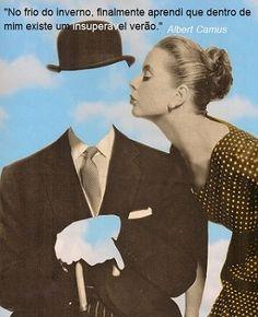 Ilustração: colagem sobre obra de Magritte