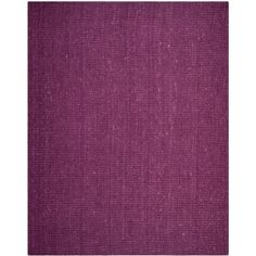 Safavieh Handmade Natural Fiber Jerneja Casual Solid Jute Rug (Purple x