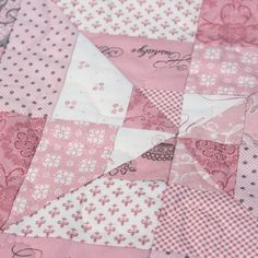 Hand Made Patchwork Quilt - baby girl