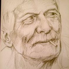 Starting a new oil on canvas - sketch 50x50 kaki pastel - Chiara Nardo - chiaranardodrawings
