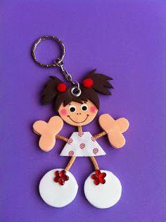 Paper Crafts For Kids, Foam Crafts, Art Drawings For Kids, Art For Kids, Quick Crafts, Diy And Crafts, Disney Hair Bows, Sunday School Crafts, Kokeshi Dolls