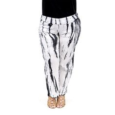 La Cera Womens Tie Dye Palazzo Pants Plus Size *** More info could be found at the affiliate link Amazon.com on image.