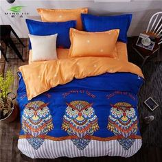 Sookie King Size Cartoon Bedding Sets Queen Size Cute Girl Duvet Cover Sets Flash Pattern For Kids Bedding Sets, Queen Bedding Sets, Girls Duvet Covers, Duvet Cover Sets, Bed Sets, Bird Design, Queen Size, King Size, Bedding Collections
