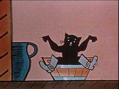 Kocour Mikeš (Mikeš se učí mluvit) díl.3 | 6 - YouTube The Past, Animation, Memories, Film, Illustration, Youtube, Poster, Pictures, Art