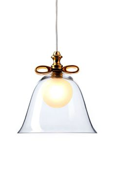 Bell Lamp Transparent by Marcel Wanders
