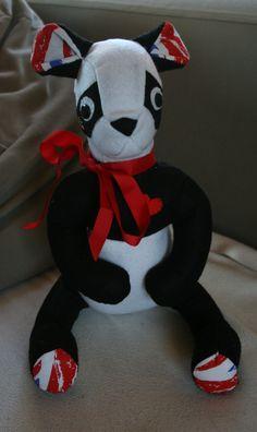 Feutrine - Doudou Panda (d'après le patron de Laëtitia Gheno)