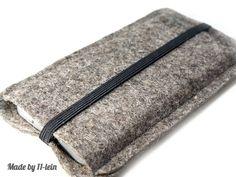 Die #Filzhülle ist auf die Größe des #iPhone 5 abgestimmt.   Sie ist aus hochwertigem 2 mm dickem #Wollfilz gefertigt, der das iPhone gut schützt.  ...