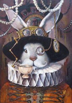 wonderland rabbit