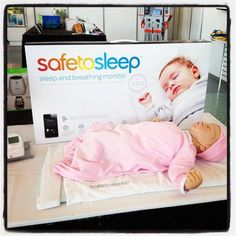 94 New Baby Products That Will Hit Store Shelves in the Coming Year: Baby Björn's new booster chair is designed for kids 3 years old and up (it doesn't have a harness) and is one piece of molded plastic so it is easy to clean.   : SafeToSleep is a sleep and breathing monitor that monitors each breath baby takes in her crib. The data is streamed to mom's smartphone.