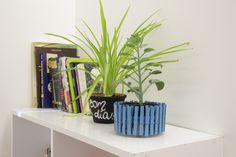 Que tal exibir suas flores e plantas favoritas em um suporte para vaso feito por você?!