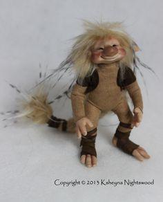 OOAK Nightswood Art Dolls: March 2013