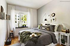 sypialnia w skandynawskim stylu