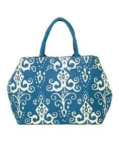 Another great find on #zulily! Navy Roussillion City Tote #zulilyfinds