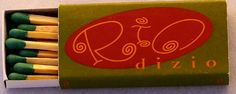 Rio Dizio #matchbox - - To Order Your Business' own branded #Matchbooks and #Matchboxes call 800.605.7331 or GoTo: www.GetMatches.com. Today!