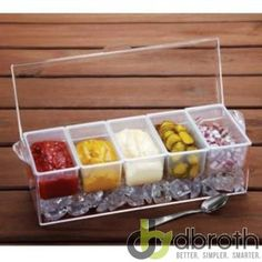 Chilled Condiment Server