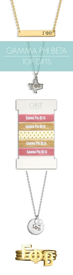 Top Gamma Phi Beta Gifts for you and your sisters! This season's must-haves for all things GPhi // #sorority www.alistgreek.com