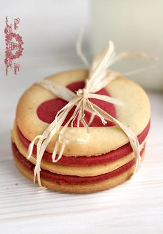 Looks like these come from a place called Cake Time - Wish I had a stack of these delicious-looking little lovelies...
