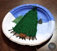 Evergreen Tree Weaving