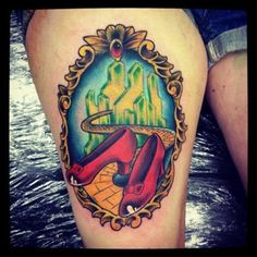 541ff91bf79c9 @Abby Maria this reminded me of you as soon as i saw it Thigh Tattoo