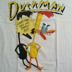 Vintage Duckman cartoon Stanley Desantis t-shirt