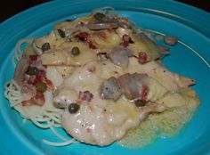Chicken scallopini with mushrooms chicken turkey other chicken scallopini with mushrooms chicken turkey other flying birds dishes pinterest chicken scallopini mushrooms and italian dishes forumfinder Images