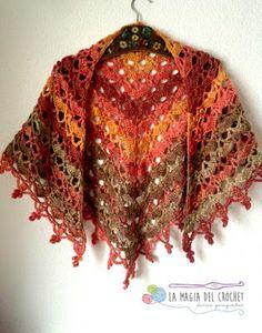 La Magia del Crochet: Chales para saludar a la Primavera