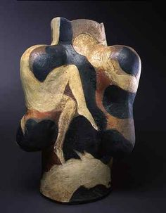 Rudy Autio, Escapade, 2001, 33 x 23 x 21 inches, stoneware, collection of Rudy & Lela Autio.