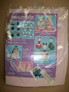 Mary Maxim Indian Doll Plastic Canvas Kit by mooglamom on Etsy, $12.00