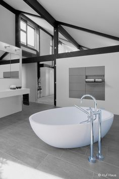 Freistehende Badewanne   © Huf Haus