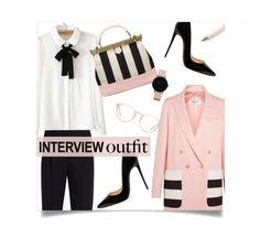 """60-Second Style: Job Interview"" by leslee-dawn ❤ liked on Polyvore featuring Alexander McQueen, MaxMara, WithChic, Christian Louboutin, Tammy & Benjamin, Ace, CLUSE, AlexanderMcQueen, christianlouboutin and jobinterview"