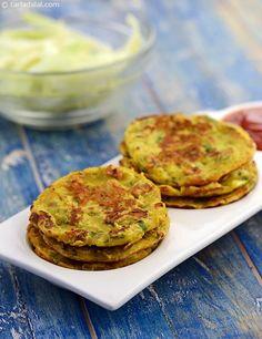 Mini Cabbage Pancakes recipe | Indian Quick Recipes | by Tarla Dalal | Tarladalal.com | #1712
