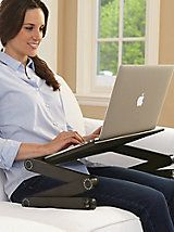 Laptop Table - Portable adjustable laptop stand | Gold Violin