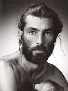 patrick petitjean - Men with effortless beards & style