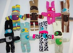 Sock monsters!