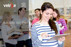 """A scuola con iPad: 3 e vetrya lanciano una sperimentazione con la Scuola Media Scalza Signorelli di Orvieto  Sperimentazione nelle classi dove i """"libri di testo"""" saranno prodotti da allievi e docenti"""