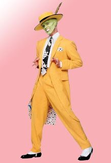 The Mask Costume Halloween, Halloween Outfits, Halloween 2020, Zoot Suits, Yellow Suit, Mellow Yellow, La Mascara Jim Carrey, Jim Carrey The Mask, Jim Carrey Movies