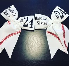 Baseball Sister Bow | Baseball Bow | Baseball Sister | Baseball | Baseball Life | Cheer Bows | Baseball Cheer Bow | Little Baseball Sister by MelisCarlosDesigns on Etsy