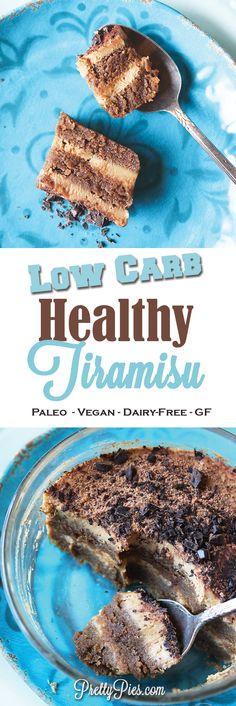 Healthy Tiramisu in 10 minutes!  #justeatrealfood #prettypies